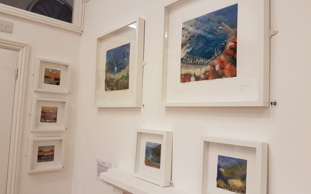 Photo from the exhibition at Lansdown Gallery in Stroud.